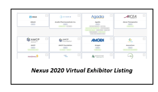 Nexus Virtual Exhibitor Listing
